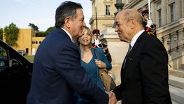 Chile – Meeting between Jean-Yves Le Drian and his counterpart (Paris, 18 (...)